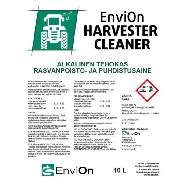 Pesuaine työkoneisiin – Envion Harvester Cleaner .