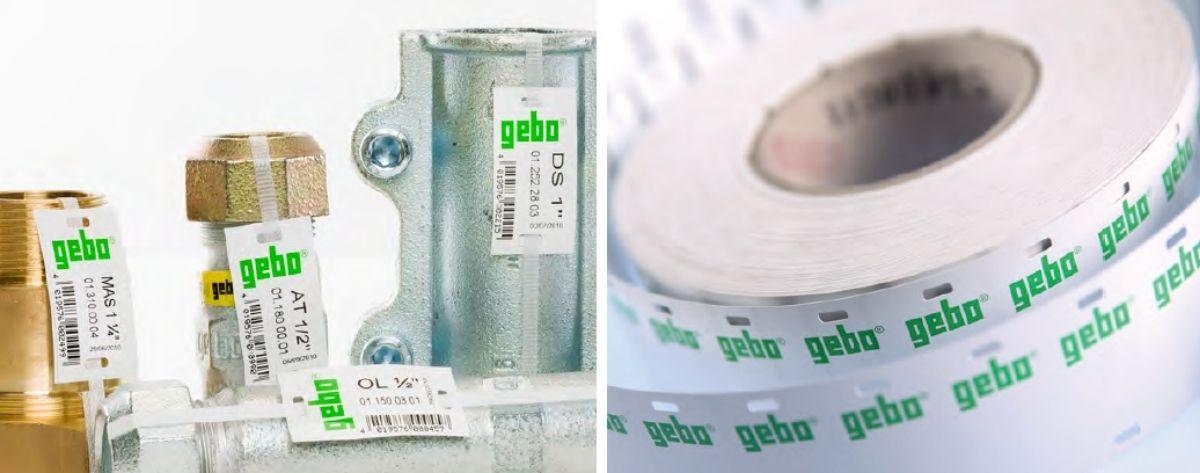 Esipainetut etiketit etikettitulostimiin